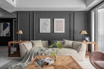 将北欧家具搬进美式壳子,110㎡精致空间,每一平米都会好好住的家