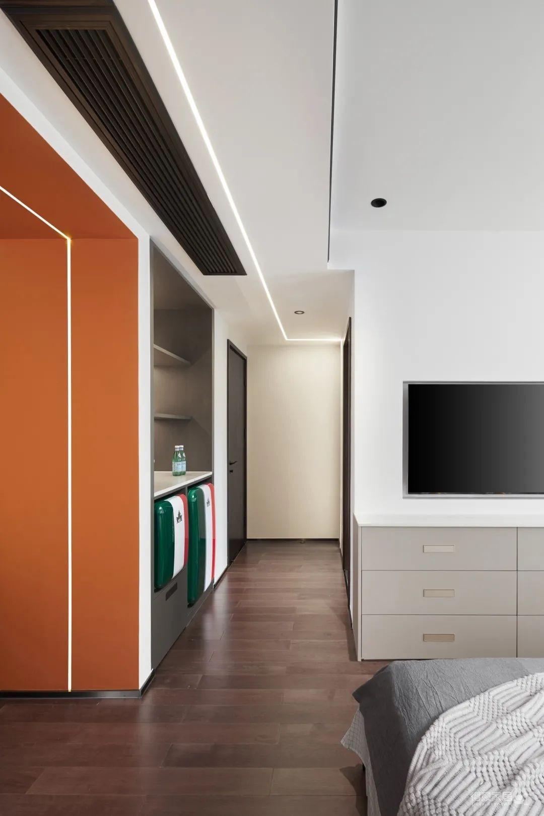 110㎡现代简约的家,用设计贴近生活