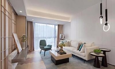 60平新中式风格装修,喜爱中式的优雅质感,亦钟情现代的时尚