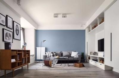 91平现代简约风格设计 不拘泥传统的家居设计