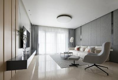 超有格调的现代简约四居室