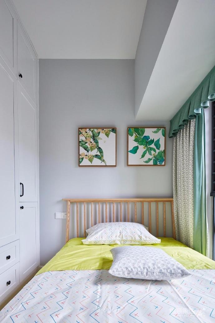设计师就将这套房子的风格定义为清新北欧