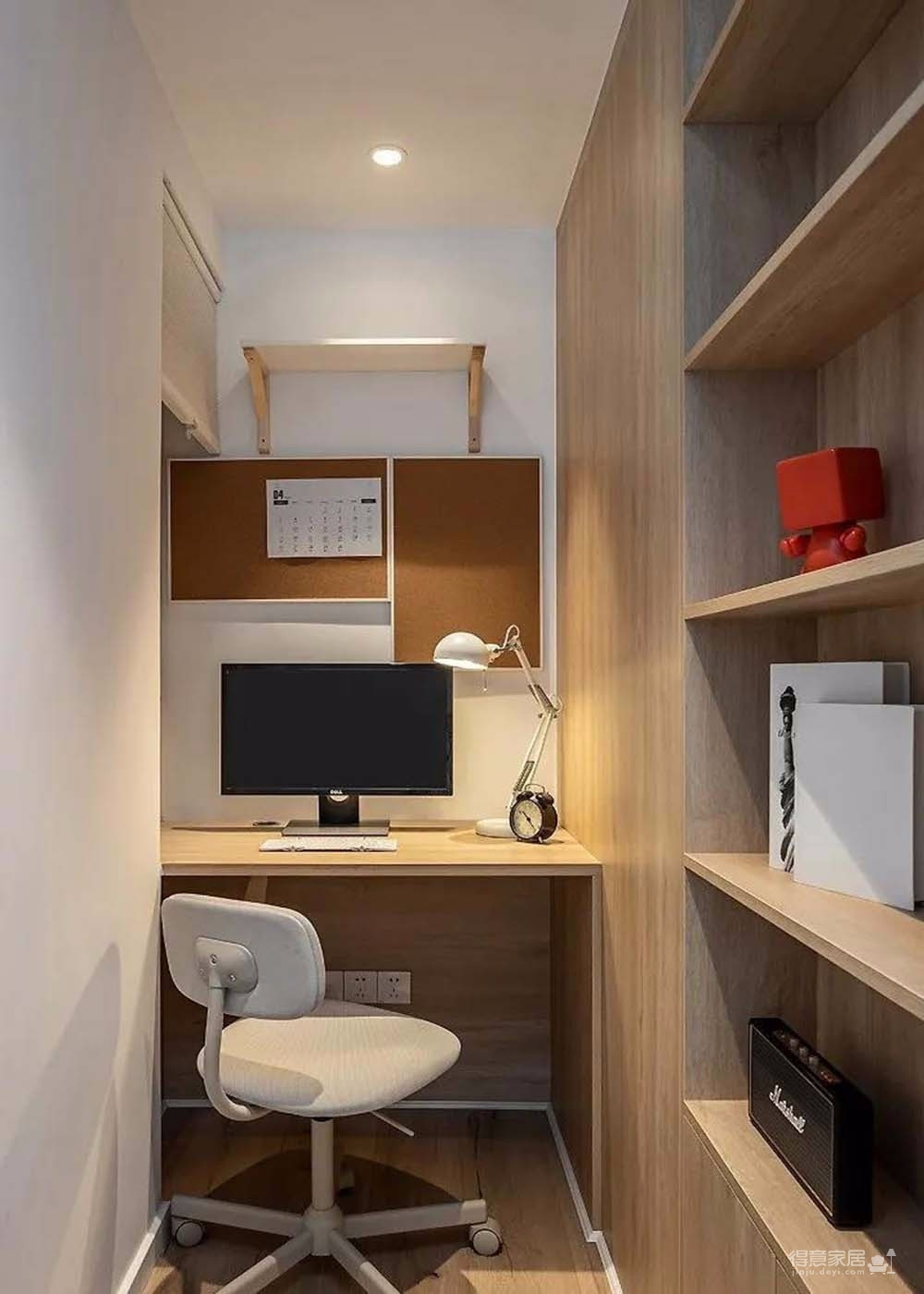 60㎡舒适北欧风格新房装修,餐厨区太棒了