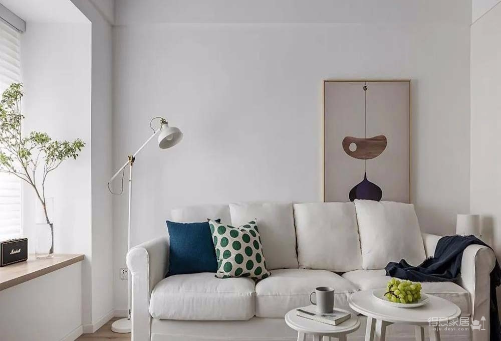 60㎡舒适北欧风格新房装修,餐厨区太棒了图_2