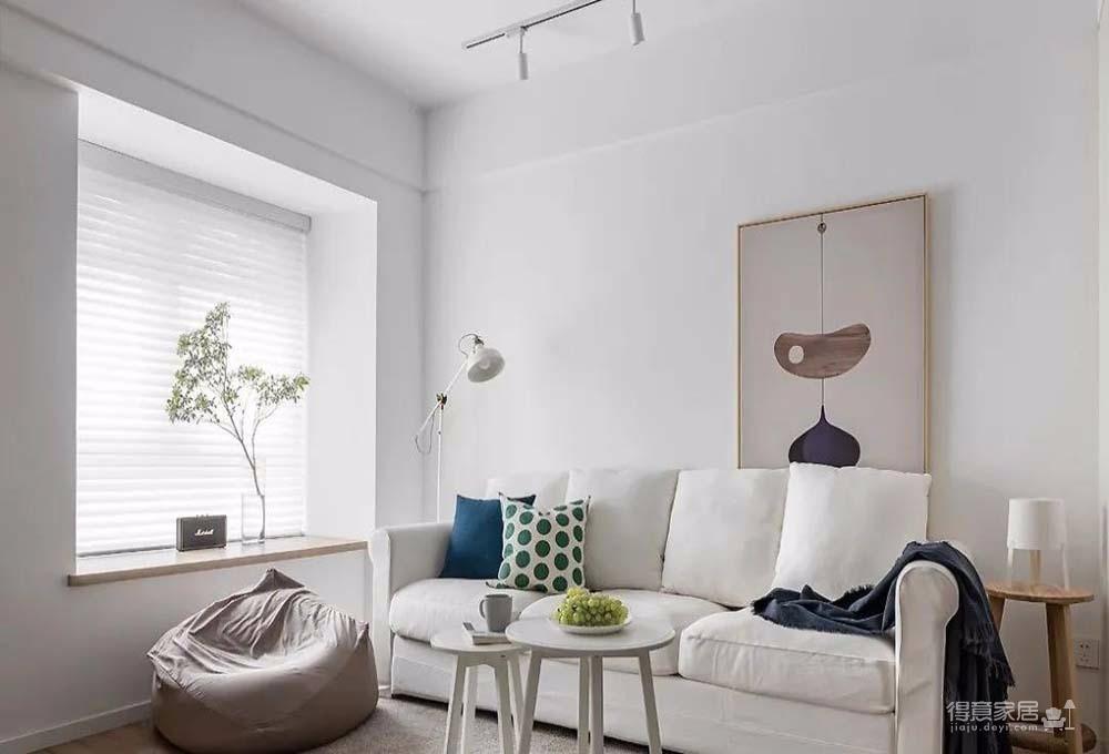 60㎡舒适北欧风格新房装修,餐厨区太棒了图_3