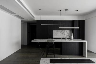简约时尚住宅——年轻人的家,客厅没那么重要