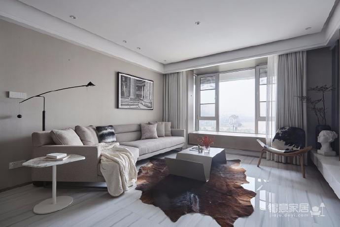 清爽干净、使用方便、储物方便、有质感三居室