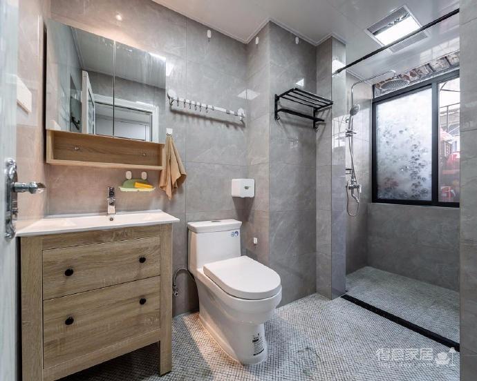 116㎡北欧现代四居室设计