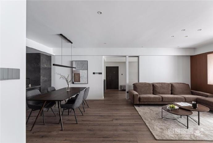 大平层4房改2房设计