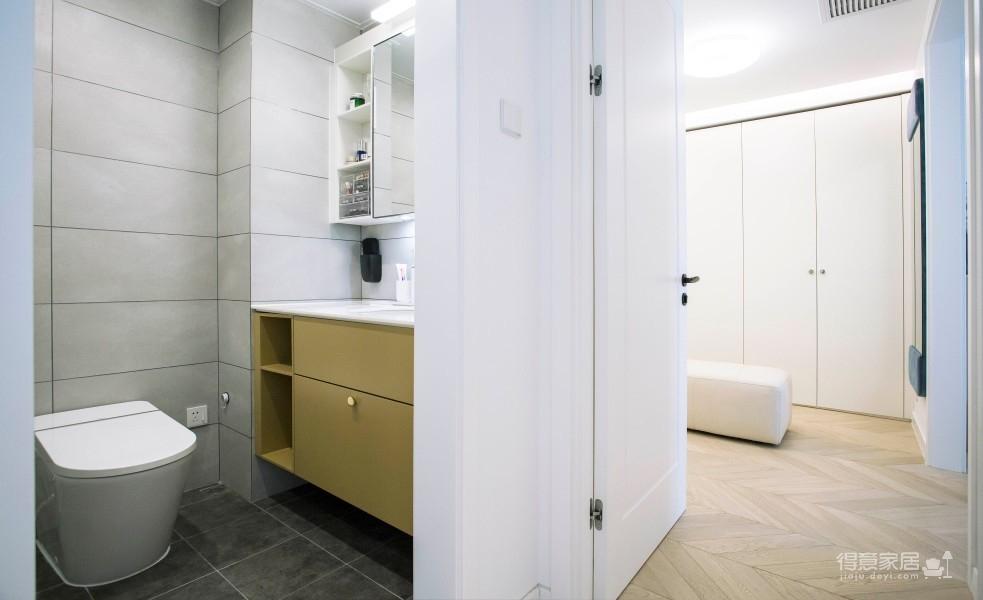 78平两居室简单生活