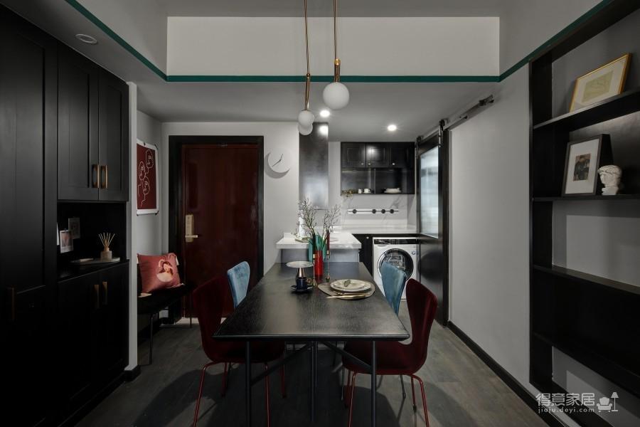 75平两室绿色空间