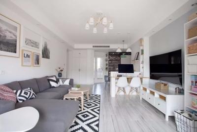 110㎡简约北欧三居室,年轻舒适又文艺满满!