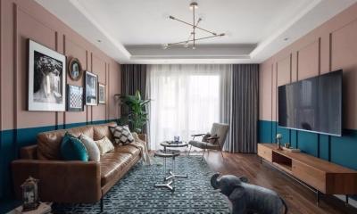 89平轻奢精装公寓,复古又独特,时尚至极