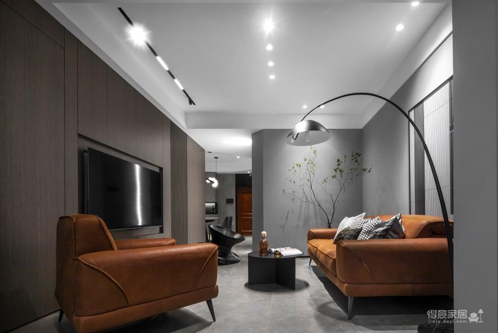 现代简约三居室美图