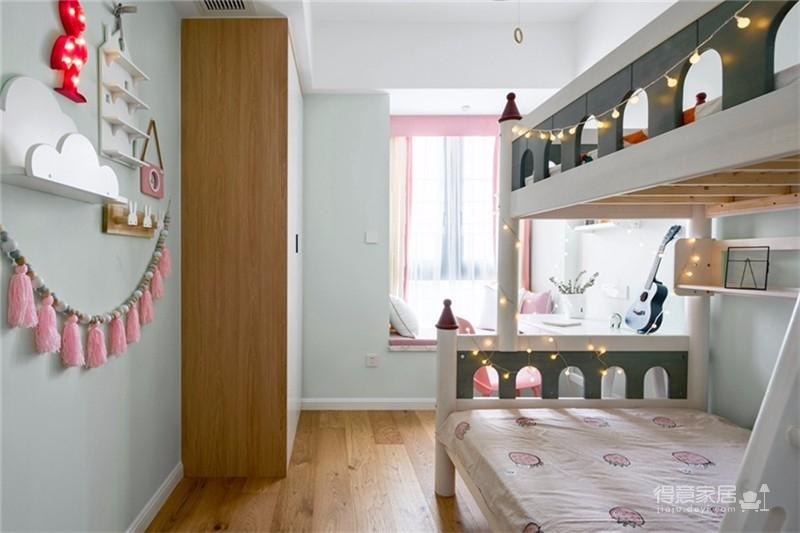 80平北欧风格二居室