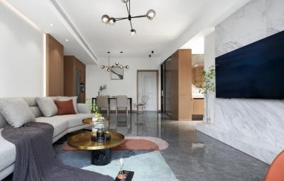 汽水之家,描绘充满活力的橙色空间