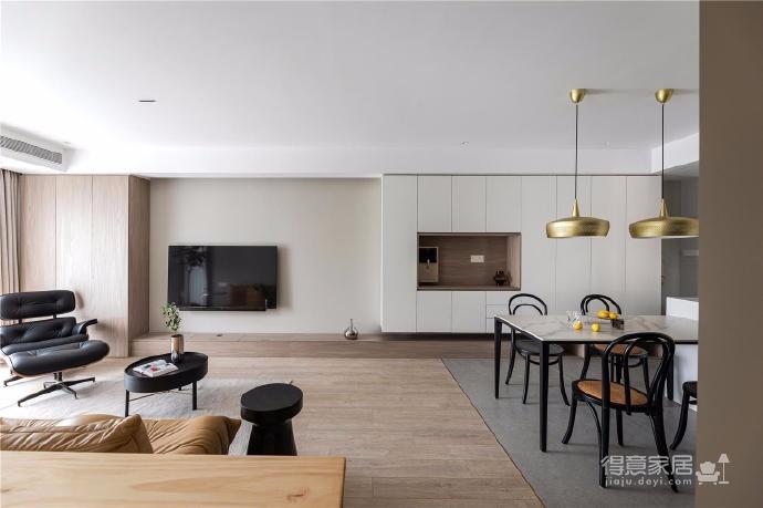 87㎡现代简约两居室设计图_1