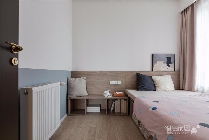 87㎡现代简约两居室设计图_5