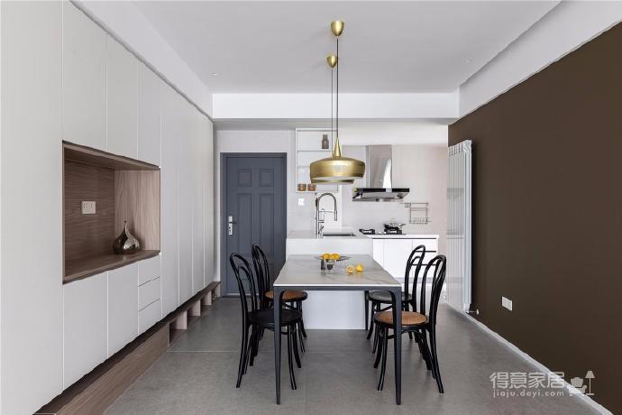 87㎡现代简约两居室设计图_10
