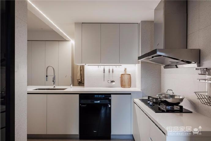 87㎡现代简约两居室设计图_11
