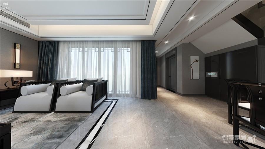 世贸龙湾140平-新中式风格