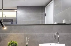 93㎡现代主义3室2厅,玻璃隔断让视觉感翻倍!图_7