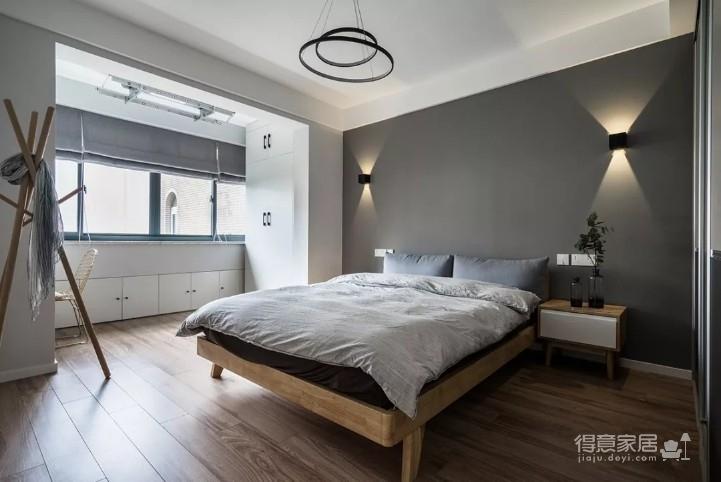 庭瑞新汉口北欧三居室120平