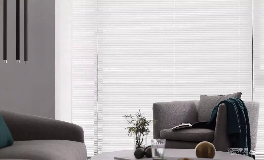 93㎡现代主义3室2厅,玻璃隔断让视觉感翻倍!图_2