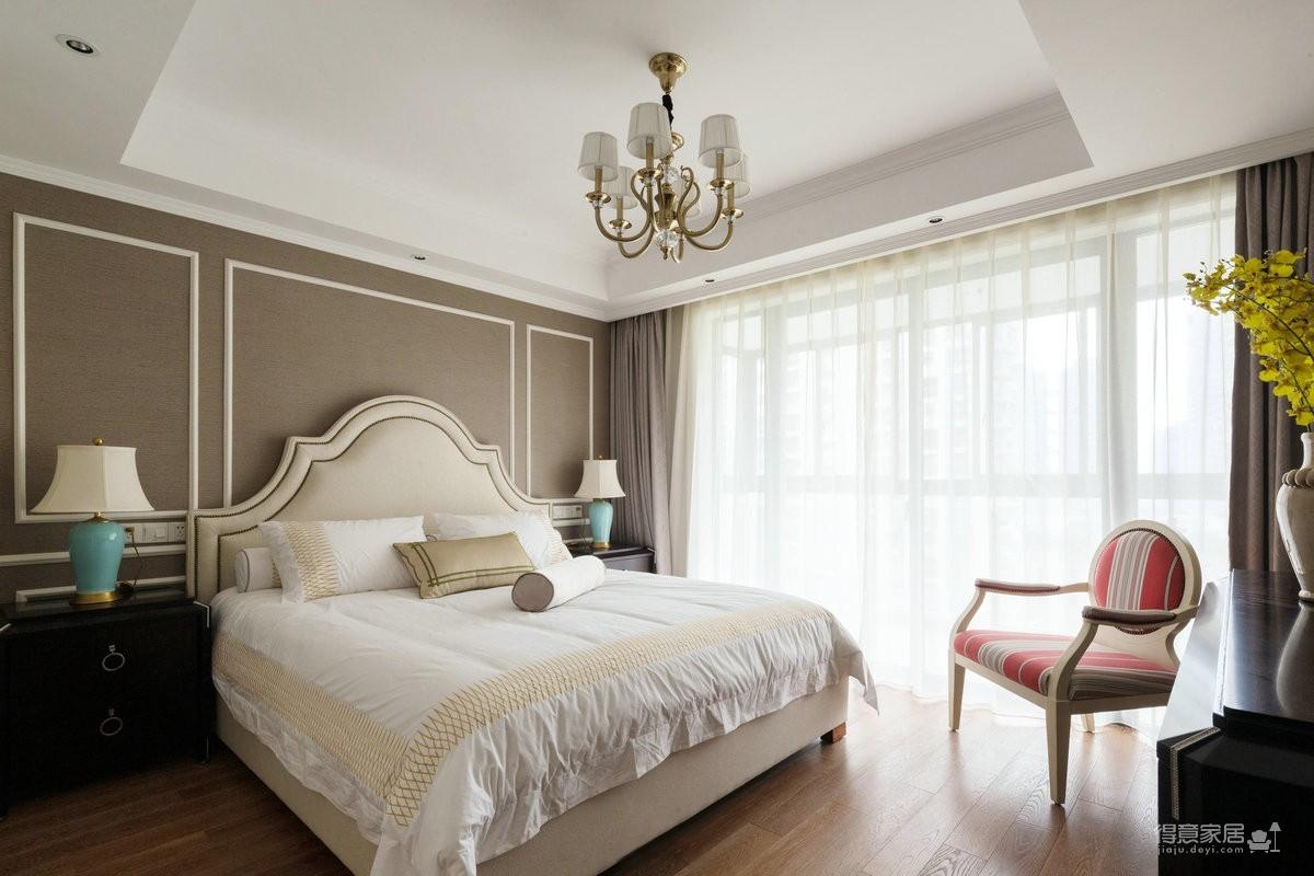 【金桥庭院】113平三室两厅美式风图_5