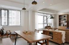简洁的北欧。白色的墙面、灰黑的家饰、搭配上木质的地板,让生冷的色系,调和出温馨的气氛图_1