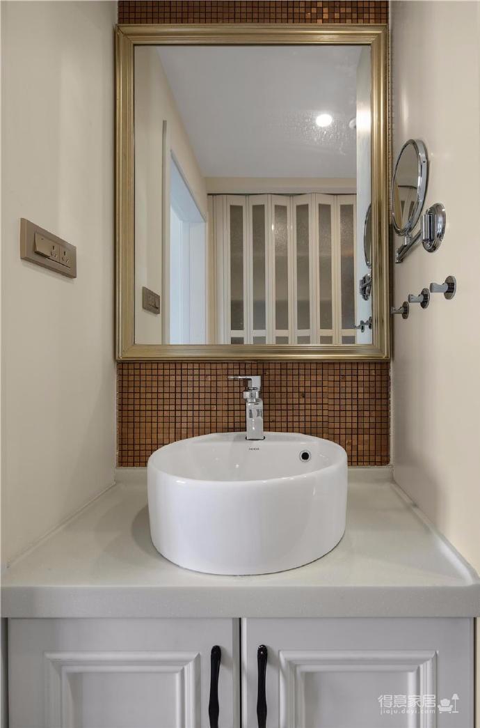 80㎡美式轻奢两居室风格设计图_8