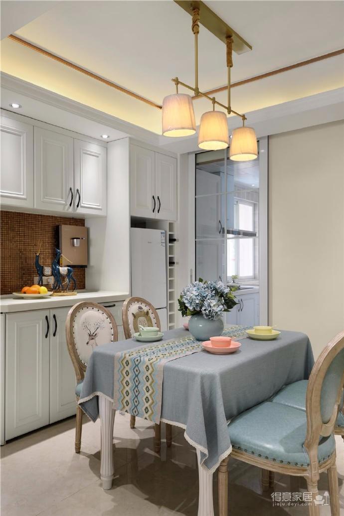 80㎡美式轻奢两居室风格设计图_6