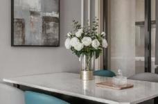 88㎡美式 北欧风格三居室设计图_8