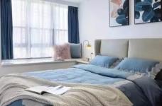 120㎡现代轻奢风三居室装修,简单吊顶+大白墙+整体柜,太有档次了!图_3