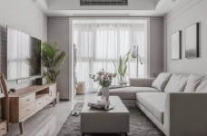 88㎡美式 北欧风格三居室设计图_1