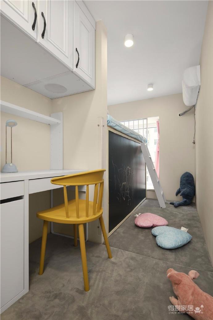 80㎡美式轻奢两居室风格设计图_9