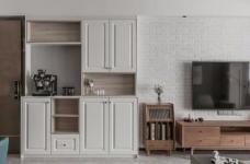 88㎡美式 北欧风格三居室设计图_2