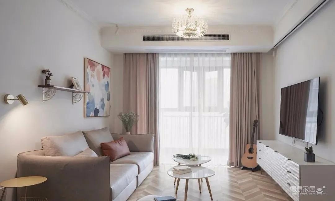 两居室改成主卧+衣帽间+休闲室的套间,住起来太爽了!图_1