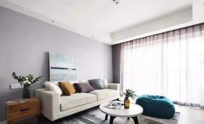 111㎡舒适北欧3室2厅,电视背景墙实用性逆天!
