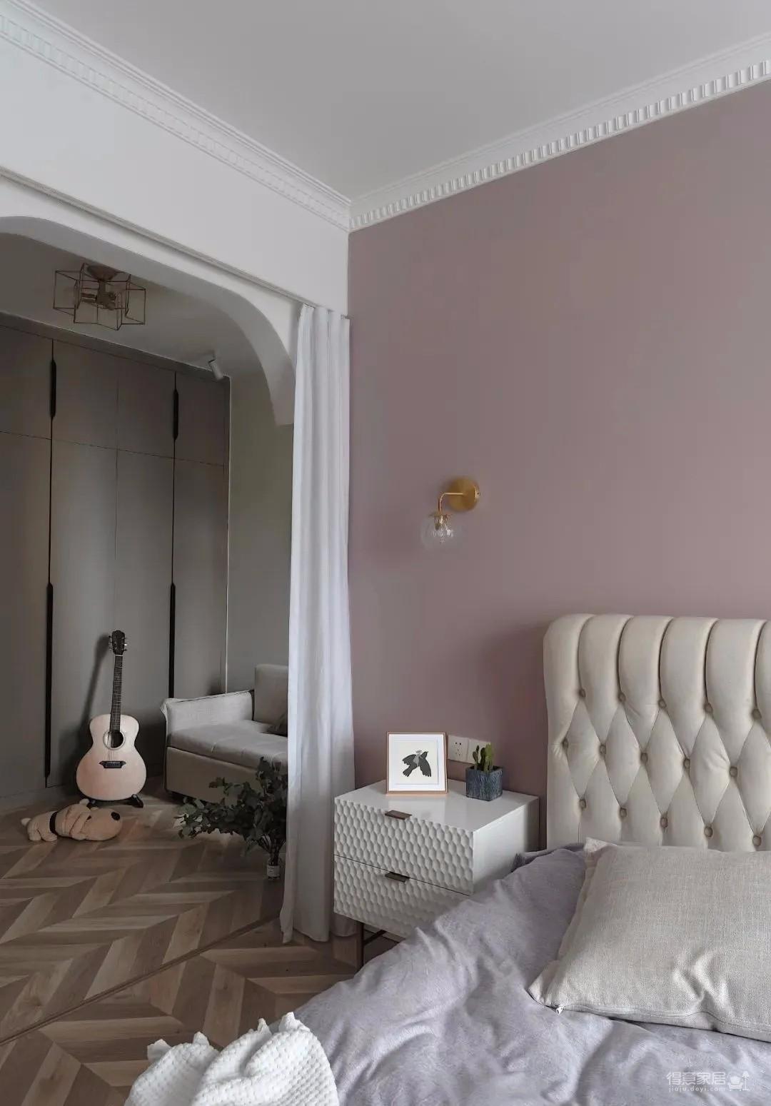 两居室改成主卧+衣帽间+休闲室的套间,住起来太爽了!图_6