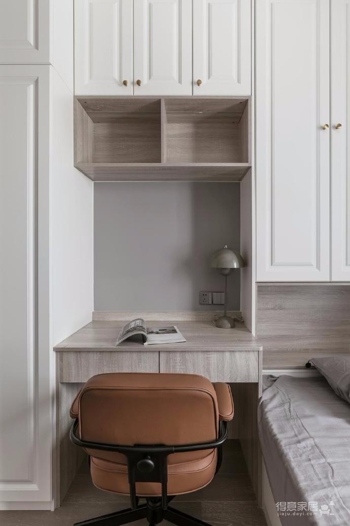 88㎡美式 北欧风格三居室设计图_7