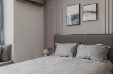 88㎡美式 北欧风格三居室设计图_6