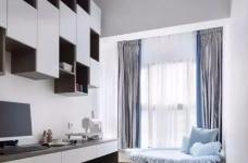 120㎡现代轻奢风三居室装修,简单吊顶+大白墙+整体柜,太有档次了!图_6