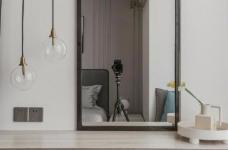88㎡美式 北欧风格三居室设计图_5
