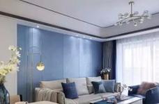 120㎡现代轻奢风三居室装修,简单吊顶+大白墙+整体柜,太有档次了!图_2