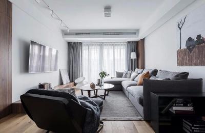 风格上体现了家的简洁,自然,舒适