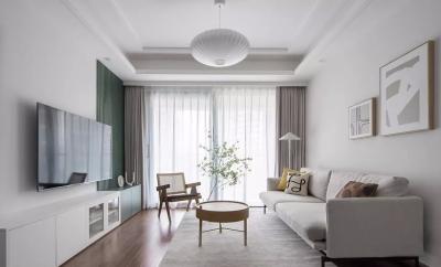 89㎡日式+北欧3室2厅,轻盈柔和的气质美居