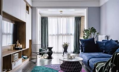 90㎡舒适北欧2室2厅,颜值与格调兼备的自然生活