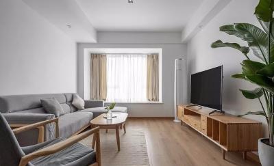 95㎡日式MUJI风3室2厅,享受温暖惬意慢生活