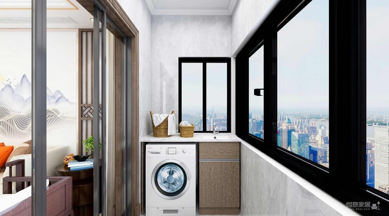 160平三室两厅新中式风